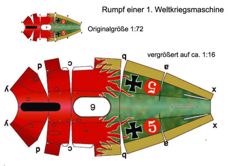 Flugsimulator im ersten Weltkrieg - Diorama im Maßstab 1:16 Hochze11