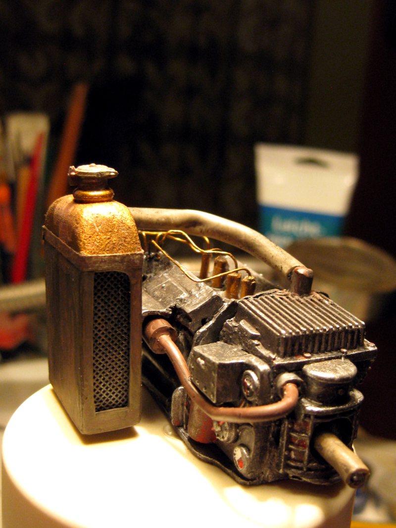 Flugsimulator im ersten Weltkrieg - Diorama im Maßstab 1:16 - Seite 3 Motor210