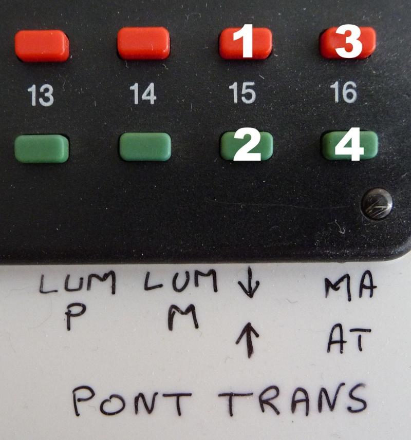 Commande pont transbordeur Märklin avec Arduino et télécommande infrarouge Keyboa10