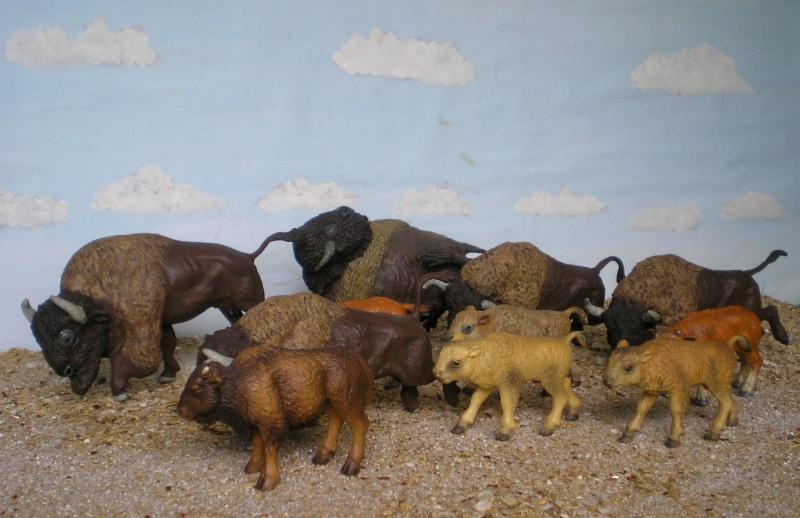 Bemalungen, Umbauten, Modellierungen - neue Tiere für meine Dioramen 013_2011