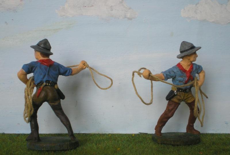 Bemalungen, Umbauten, Modellierungen - neue Cowboys für meine Dioramen 080d2a10