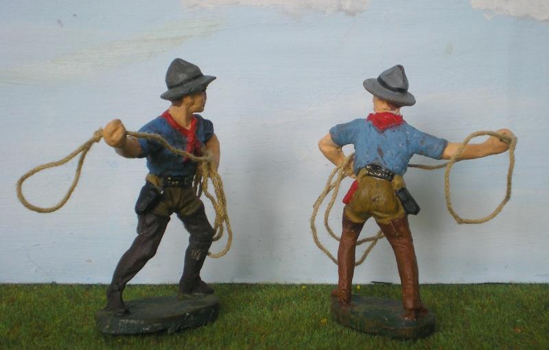 Bemalungen, Umbauten, Modellierungen - neue Cowboys für meine Dioramen 080d2b10