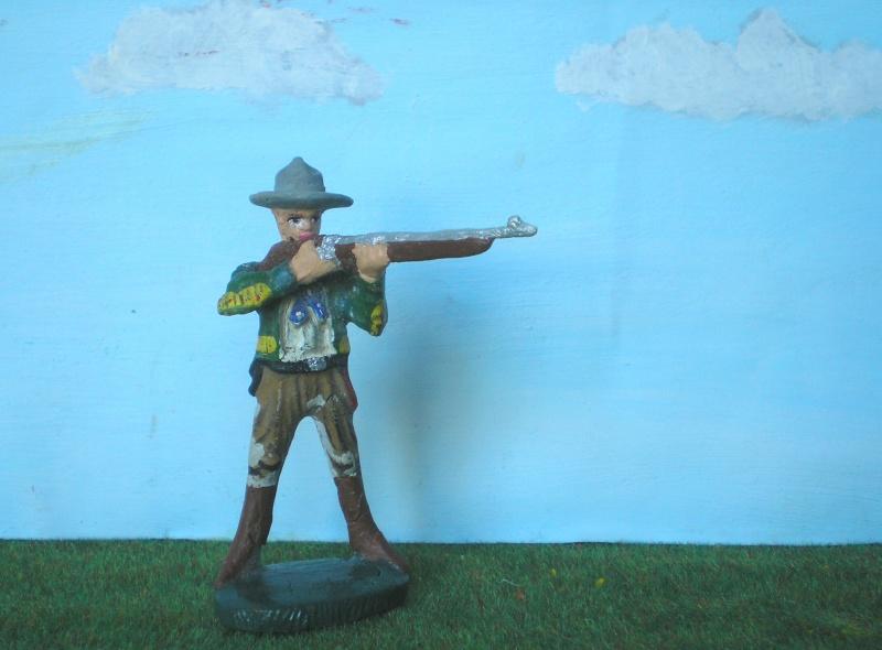 Bemalungen, Umbauten, Modellierungen - neue Cowboys für meine Dioramen 080e1_10