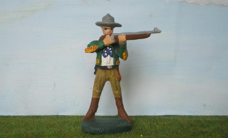 Bemalungen, Umbauten, Modellierungen - neue Cowboys für meine Dioramen 080e2a10