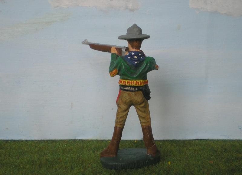 Bemalungen, Umbauten, Modellierungen - neue Cowboys für meine Dioramen 080e2b10