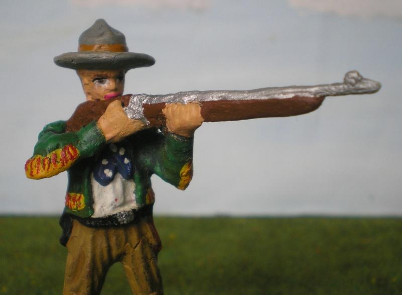 Bemalungen, Umbauten, Modellierungen - neue Cowboys für meine Dioramen 080e3_10