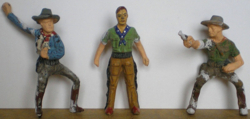 Bemalungen, Umbauten, Modellierungen - neue Cowboys für meine Dioramen 082a_r10