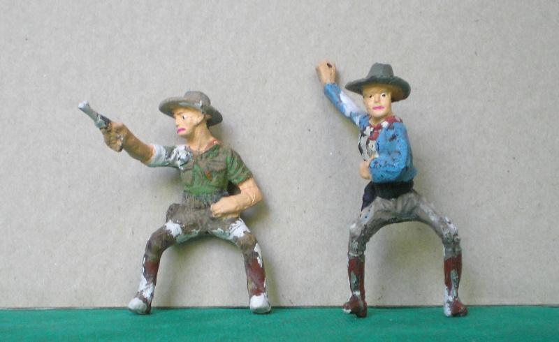 Bemalungen, Umbauten, Modellierungen - neue Cowboys für meine Dioramen 082b2_10