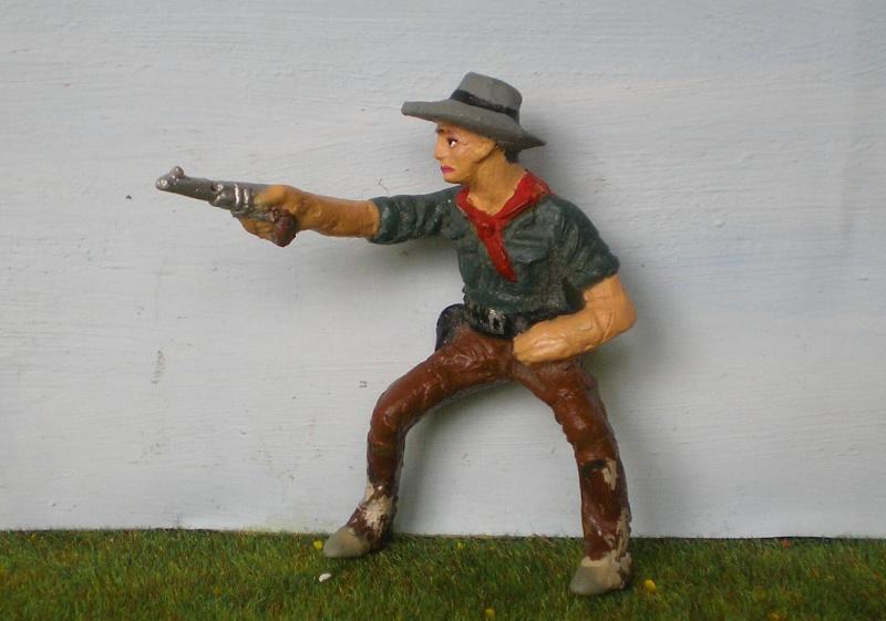 Bemalungen, Umbauten, Modellierungen - neue Cowboys für meine Dioramen 082d2_10