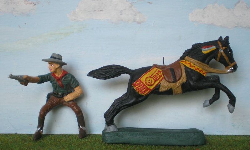 Bemalungen, Umbauten, Modellierungen - neue Cowboys für meine Dioramen 082f1_10