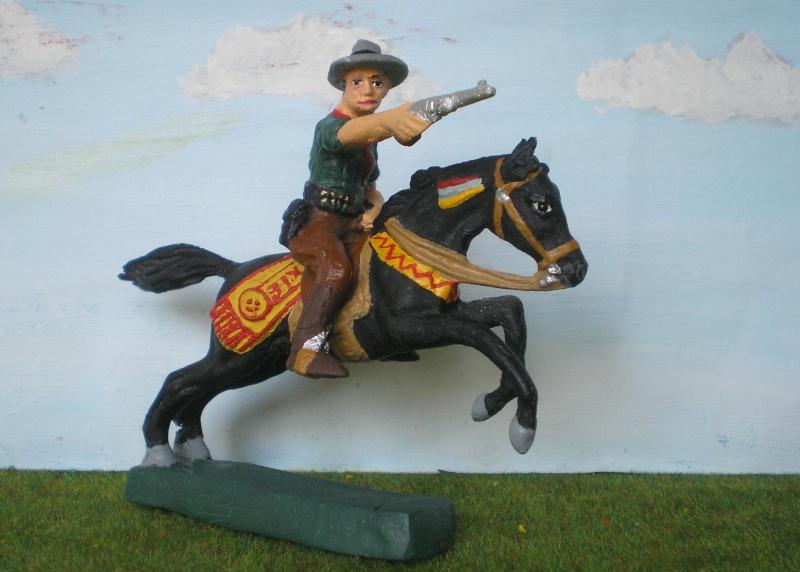 Bemalungen, Umbauten, Modellierungen - neue Cowboys für meine Dioramen 082f2_10