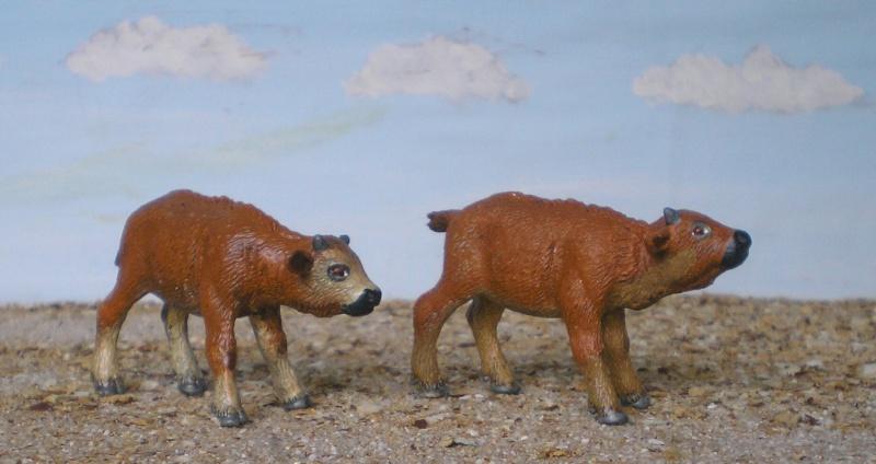Bemalungen, Umbauten, Modellierungen - neue Tiere für meine Dioramen 177c6d10