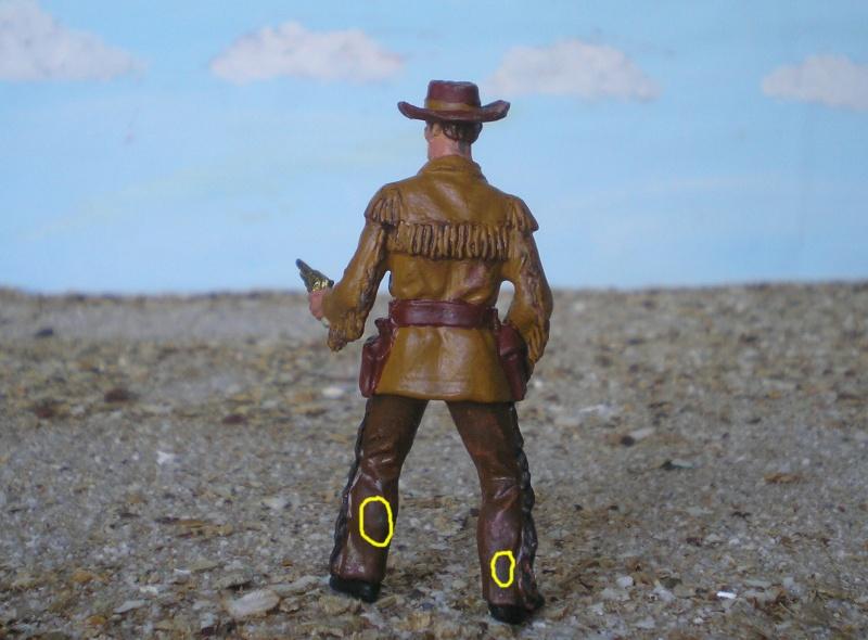 Bemalungen, Umbauten, Modellierungen - neue Cowboys für meine Dioramen 180c3c11