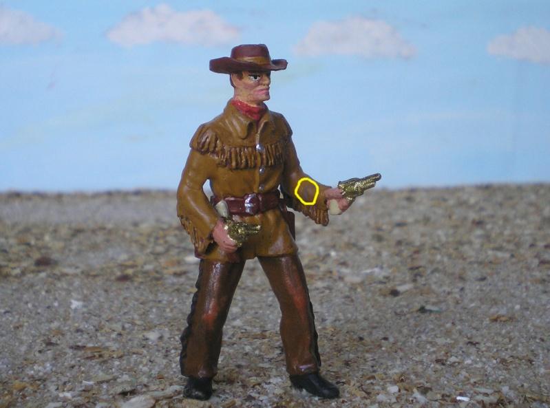 Bemalungen, Umbauten, Modellierungen - neue Cowboys für meine Dioramen 180c3c12