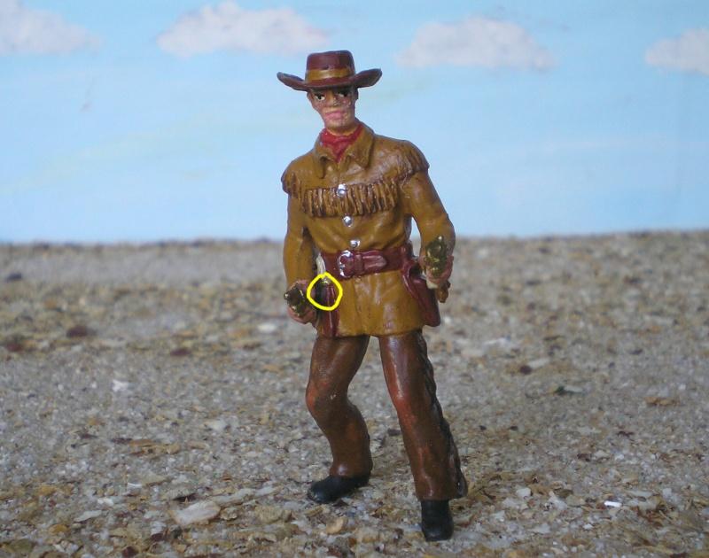 Bemalungen, Umbauten, Modellierungen - neue Cowboys für meine Dioramen 180c3c13