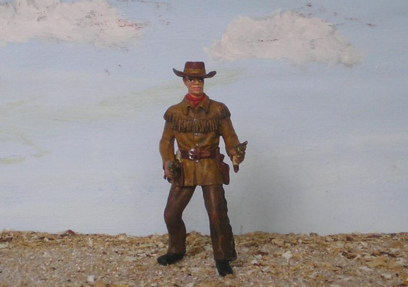Bemalungen, Umbauten, Modellierungen - neue Cowboys für meine Dioramen 180c3d10