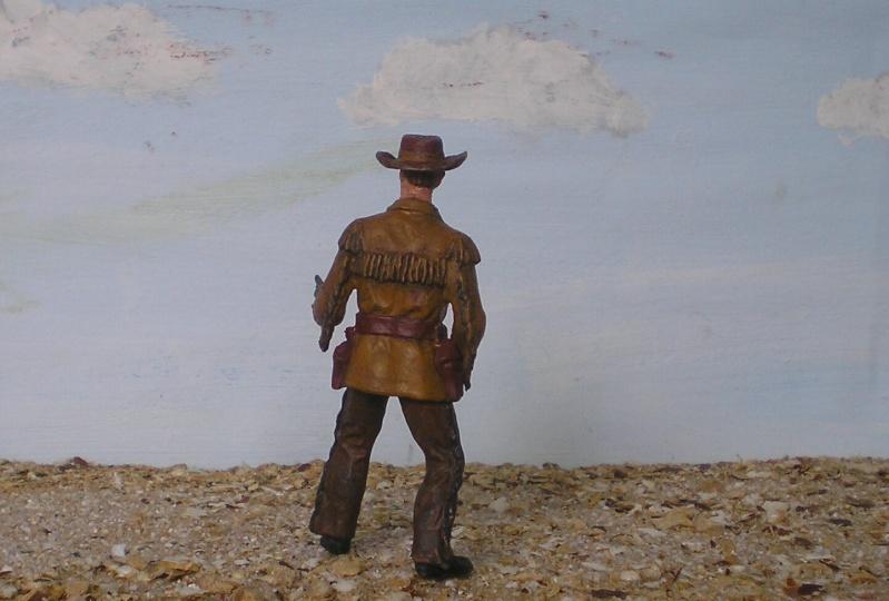 Bemalungen, Umbauten, Modellierungen - neue Cowboys für meine Dioramen 180c3d11