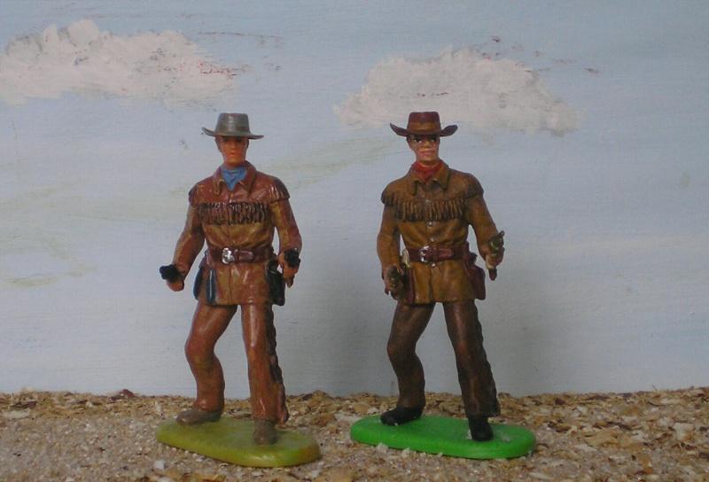 Bemalungen, Umbauten, Modellierungen - neue Cowboys für meine Dioramen 180c4_10