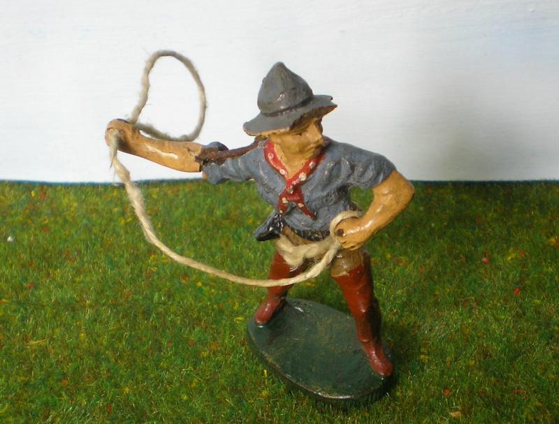 Bemalungen, Umbauten, Modellierungen - neue Cowboys für meine Dioramen 180r1_10