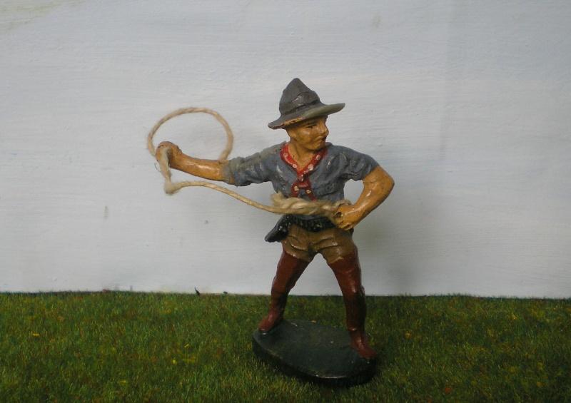 Bemalungen, Umbauten, Modellierungen - neue Cowboys für meine Dioramen 180r3b10