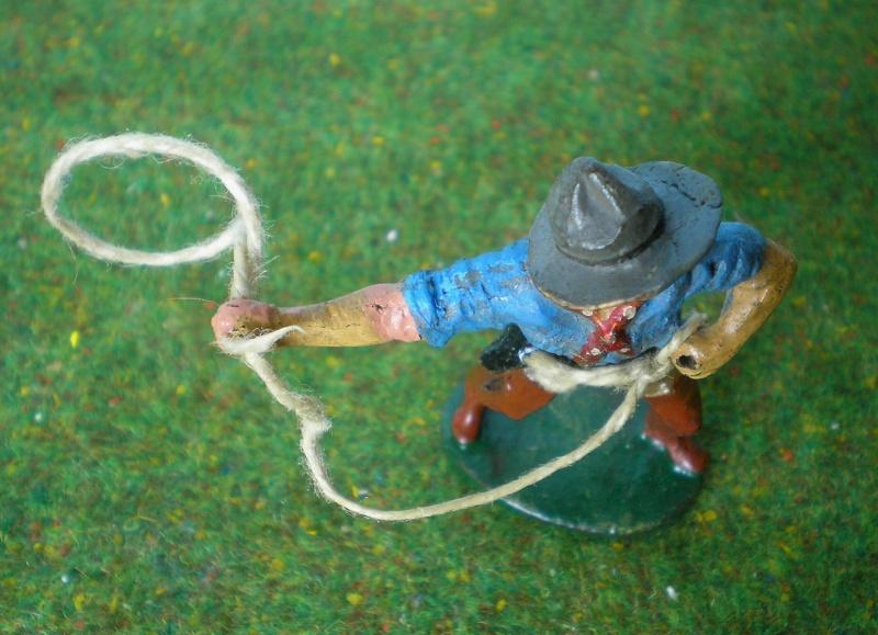 Bemalungen, Umbauten, Modellierungen - neue Cowboys für meine Dioramen 180r3c10