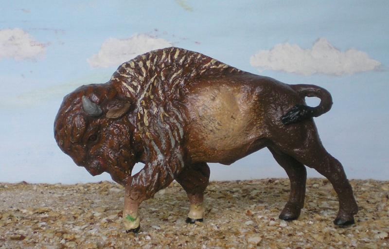 Bemalungen, Umbauten, Modellierungen - neue Tiere für meine Dioramen 181e6b10