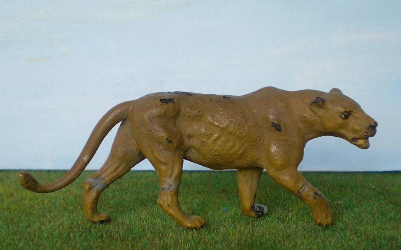 Bemalungen, Umbauten, Modellierungen - neue Tiere für meine Dioramen 181f3b10