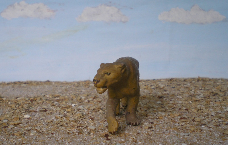 Bemalungen, Umbauten, Modellierungen - neue Tiere für meine Dioramen 181f4b10