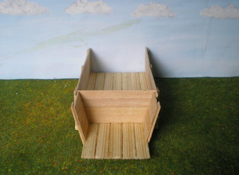 Eigenbau eines Chuck Wagons für Figurengröße 7 cm (Maßstab 1:24) 187b4b10