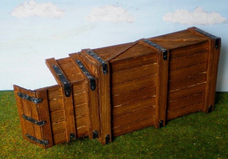 Eigenbau eines Chuck Wagons für Figurengröße 7 cm (Maßstab 1:24) 187b7d11