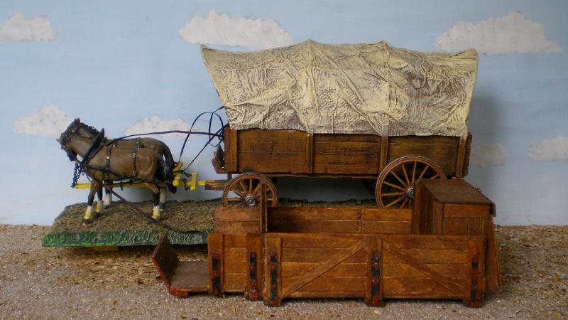 Eigenbau eines Chuck Wagons für Figurengröße 7 cm (Maßstab 1:24) 187d9b10