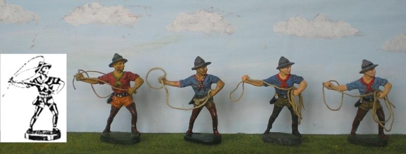 Bemalungen, Umbauten, Modellierungen - neue Cowboys für meine Dioramen Elasto10