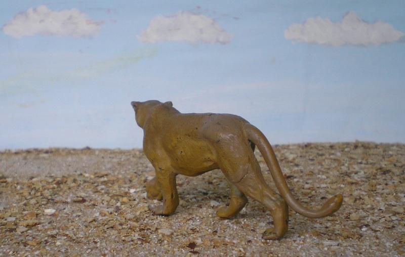 Bemalungen, Umbauten, Modellierungen - neue Tiere für meine Dioramen Lineol11