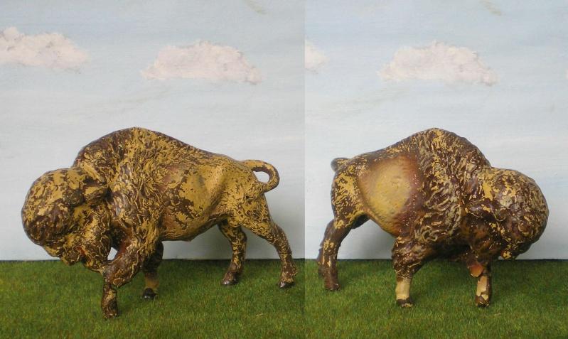 Bemalungen, Umbauten, Modellierungen - neue Tiere für meine Dioramen Lineol14