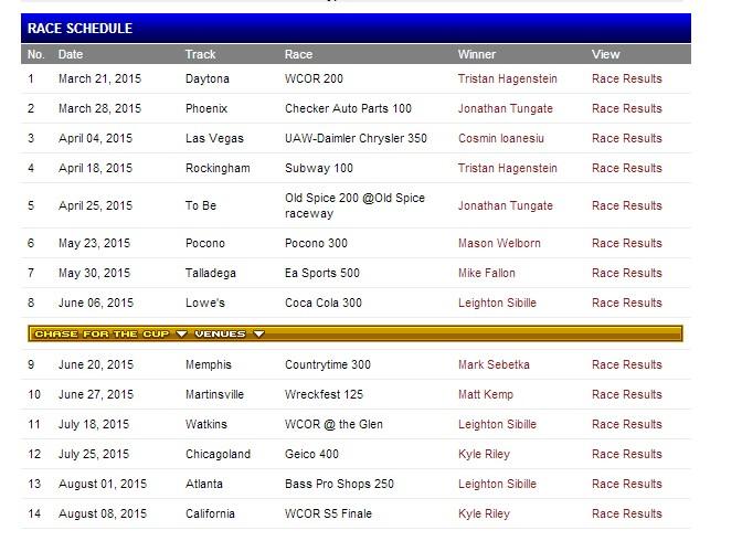 Season 5 Schedule 23r3rr10
