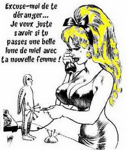 DESSINS  HUMORISTIQUES   (pas de photos) - Page 40 Femme110
