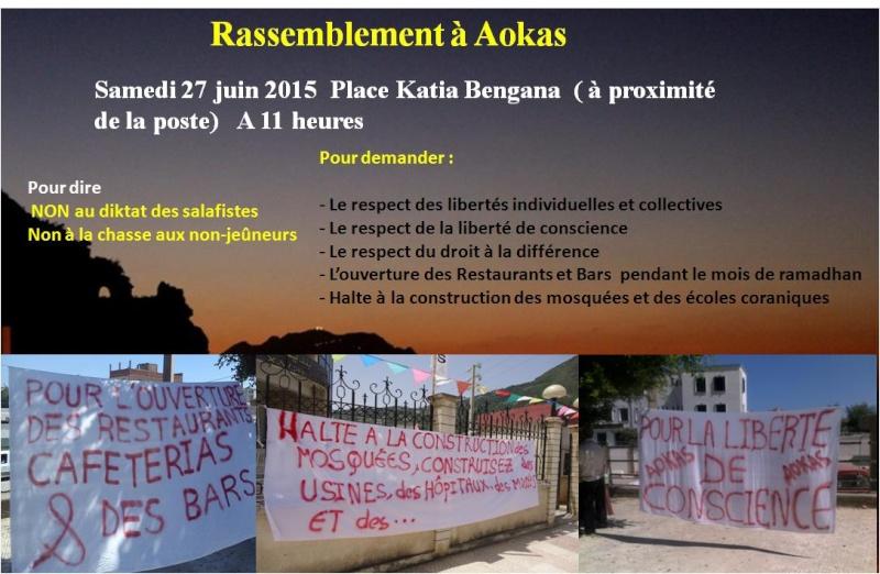 Liberté de culte et conscience: Rassemblement à Aokas Samedi 27 juin 2015  Culte10