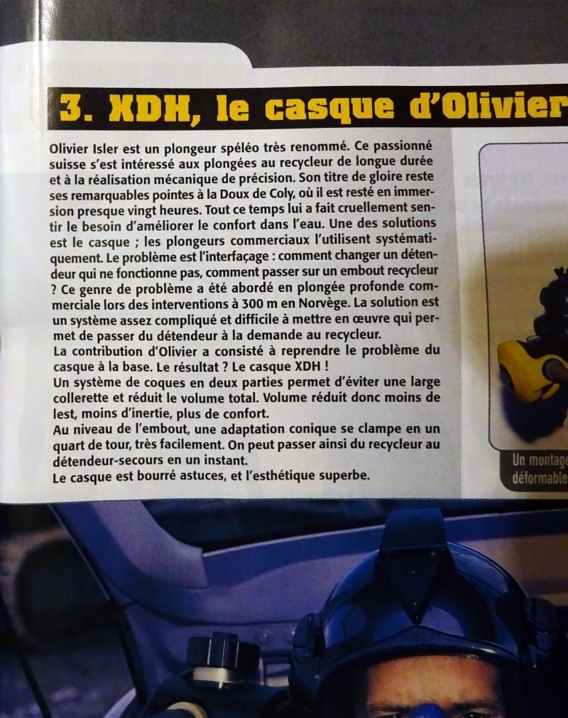 Olivier Isler et son casque, le XDH  Dsc02114