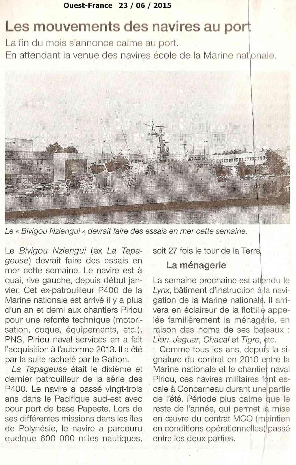 [Vie des ports] LE PORT DE CONCARNEAU - Volume 006 - Page 20 Numyri13