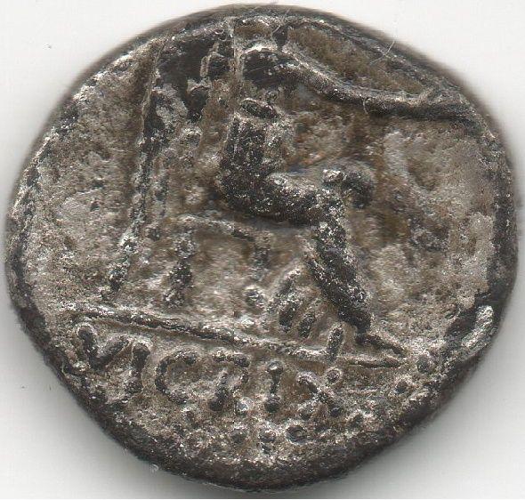 République Quinaire émis par Marcus Porcius Cato Uticensis 1110