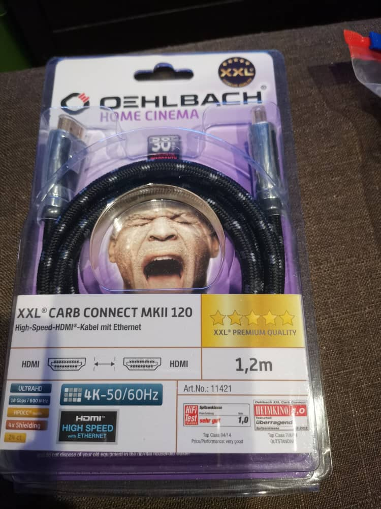 Oehlbach HDMI cable(SOLD) 00c1a810
