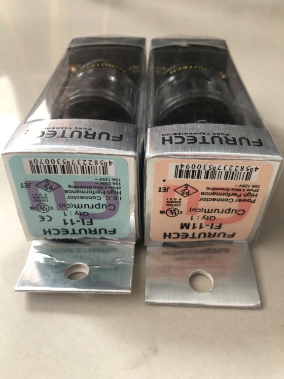 Furutech power plugs (SOLD) 62093710