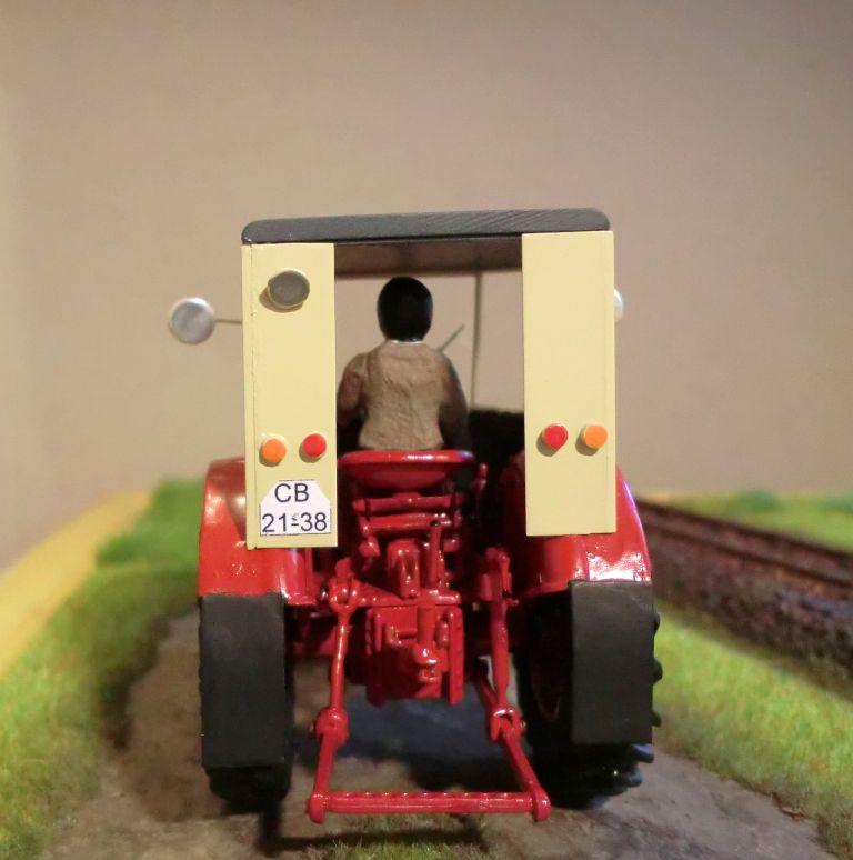 Traktoren Lanz, Aktivist, Pionier, Zetor in 1:43 Trakto11