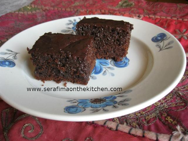 Супер шоколадные пирожные с пропиткой Img_3810