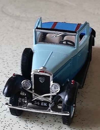 Miniature 201 Cabriolet Cabrio11