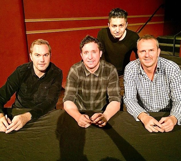 Night Out with Robbie Fowler, Didi Hamann, and Jason McAteer Screen12