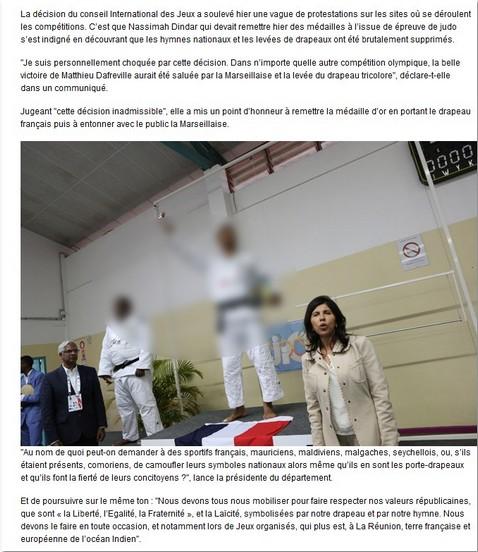 DU DEROULEMENT DES JEUX DES ILES MASCAREIGNES: DES EXCUSES OFFICIELLES S'IMPOSENT ! Jeux_d11