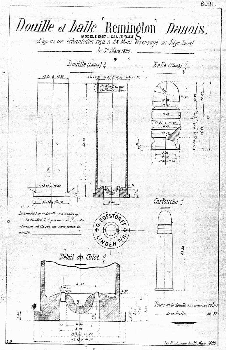 Remington Rollingblock M/1867/96 calibre 11,44x51CF - Page 2 Cartou11