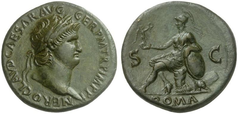 Bronzes antiques regravés : avant - après Nero_r10