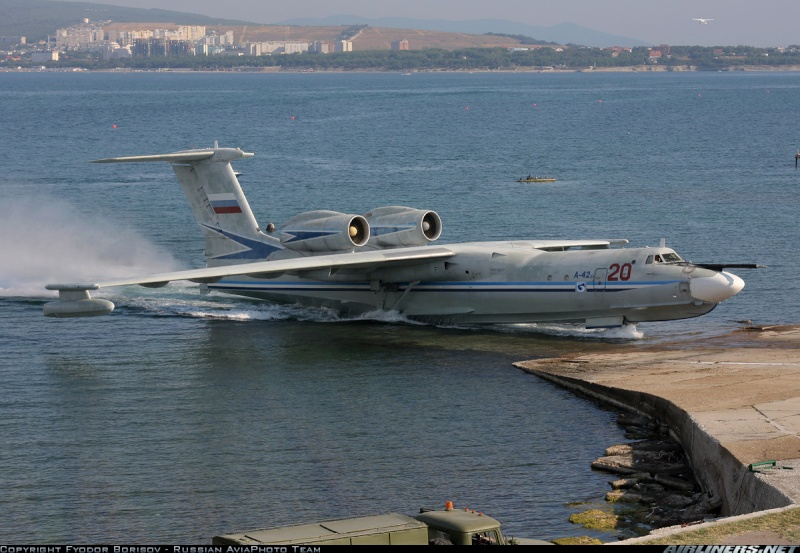 ASW Aircrafts for Russian Navy: - Page 3 Be_a-410